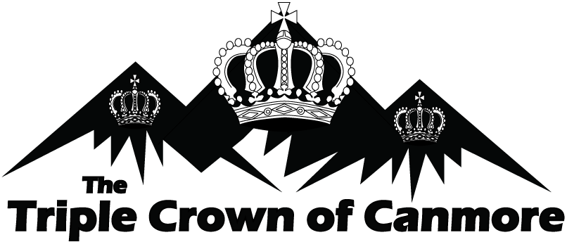 The Triple Crown of Canmore logo.
